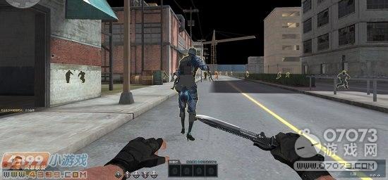 生死狙击游戏截图-美型劳伦腿