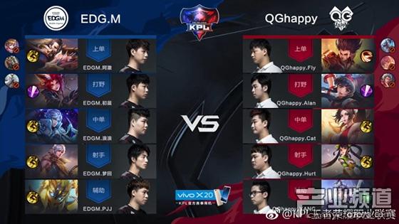 EDG.M终结双冠王QG.Happy十五连胜,意外上热搜!
