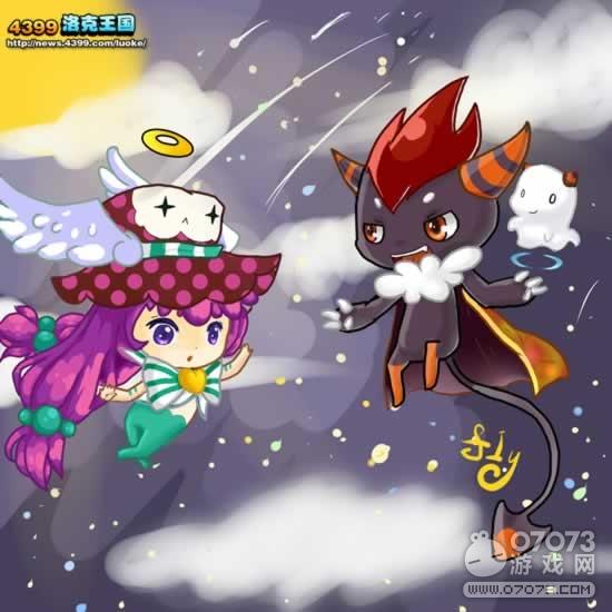 洛克王国天使与恶魔