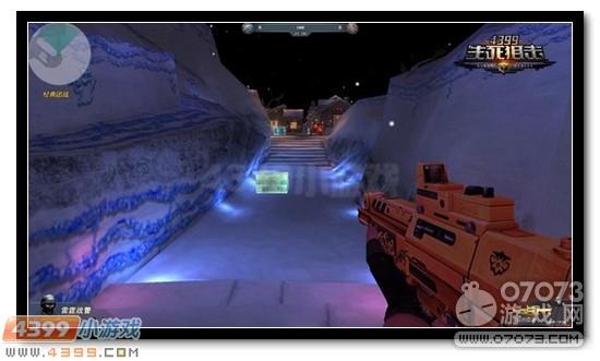 4399生死狙击寒冬降临 雪地对决世外雪域