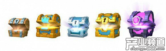 Clash Royale chests gacha via Supercell