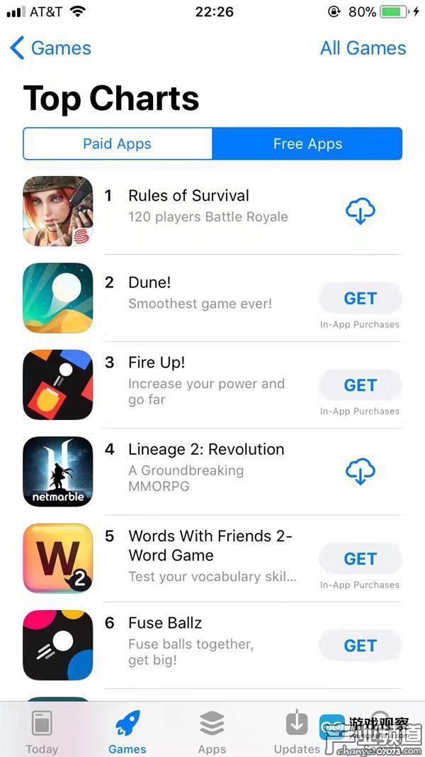 登顶美国AppStore下载榜