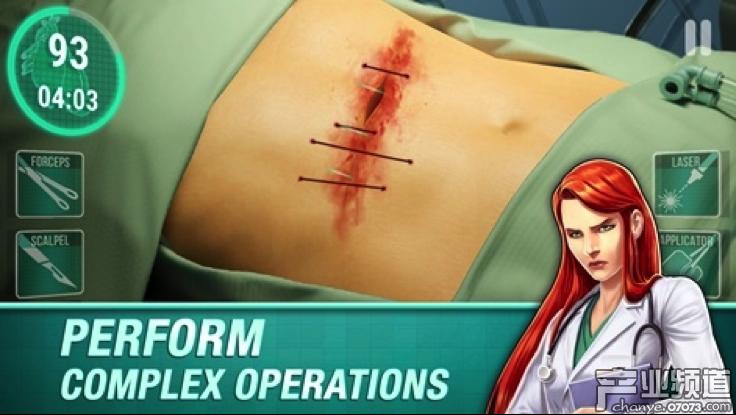 《手术时间医院》备受玩家青睐