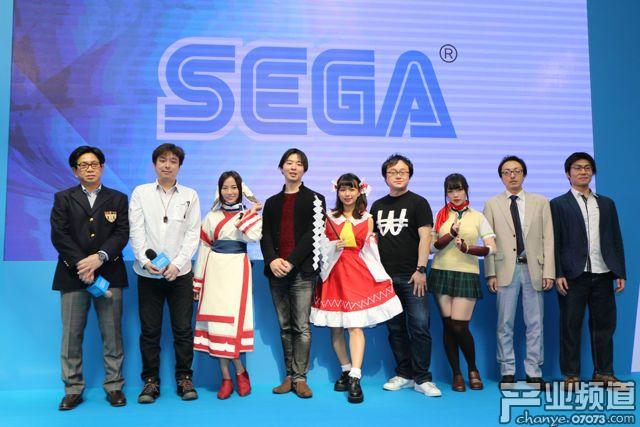 台北电玩展 SEGA
