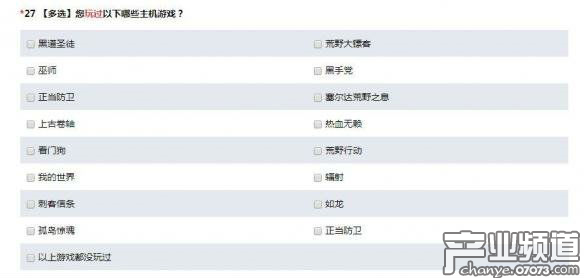 腾讯游戏调查问卷暗示将推出《GTA5》改编手游