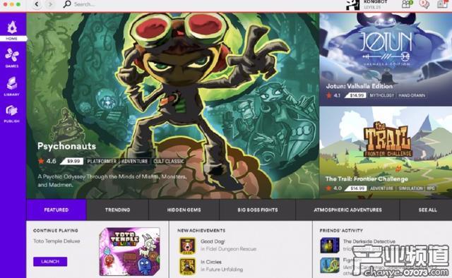 Steam再添对手 Kongregate今夏上线PC游戏平台