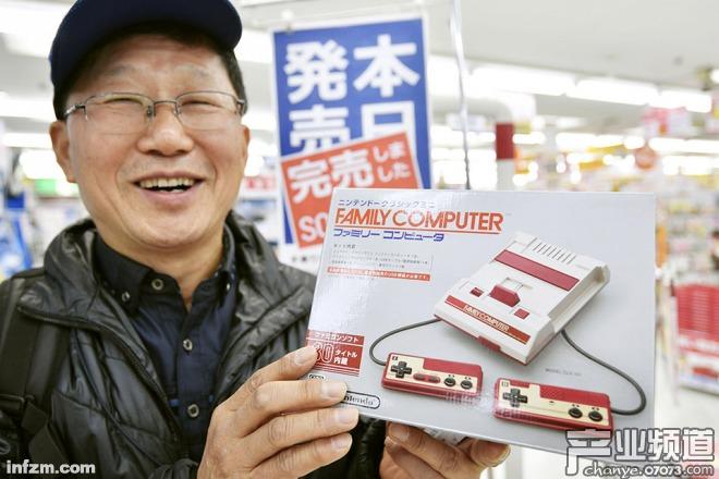 2016年,任天堂推出红白机复刻版,不少玩家竞相购买