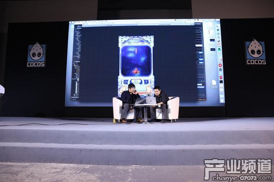 现场演示Cocos游戏运行在Cocos公链环境