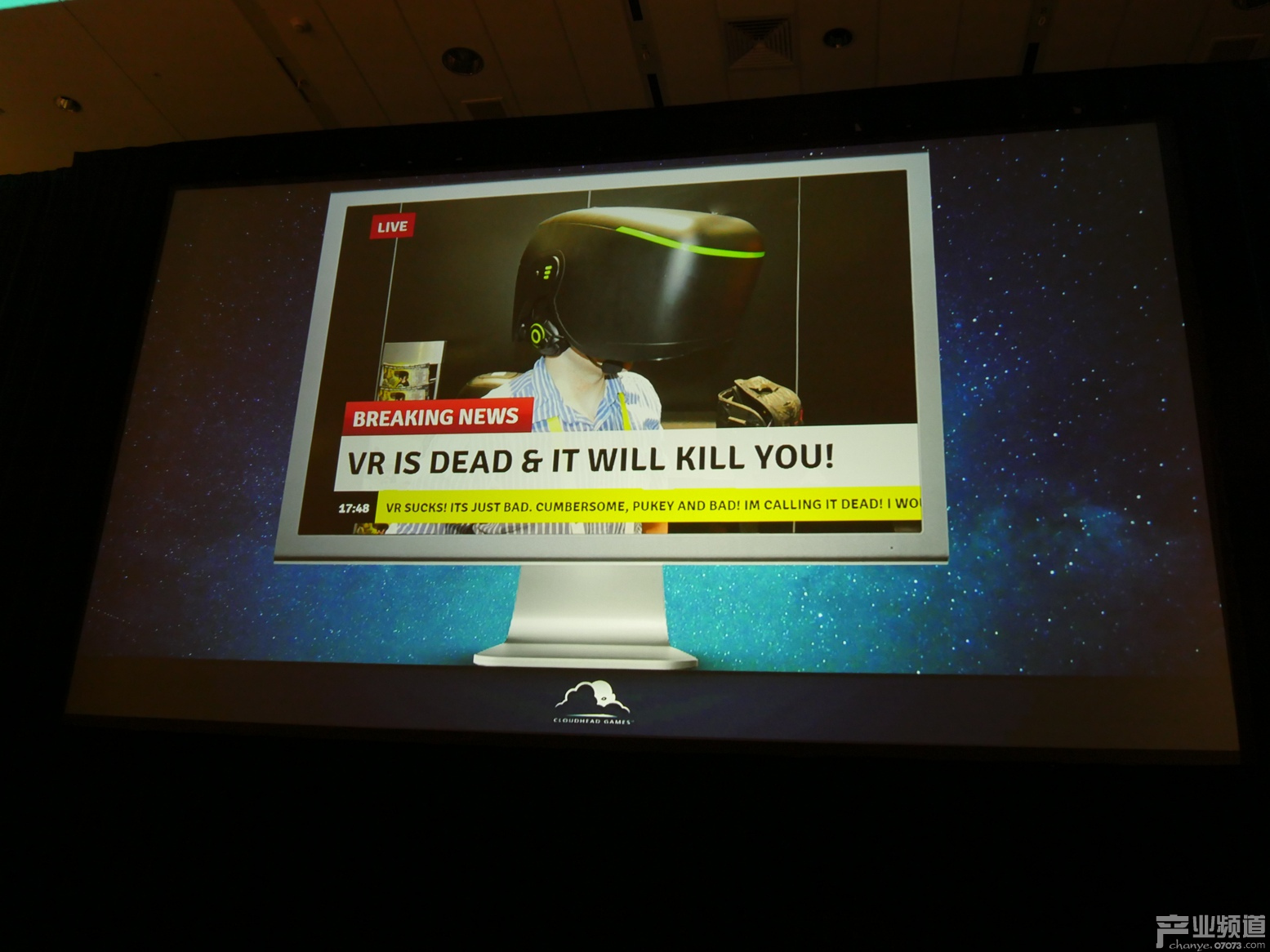 开发者:VR游戏终将会成为主流 目前尚有2年低谷期