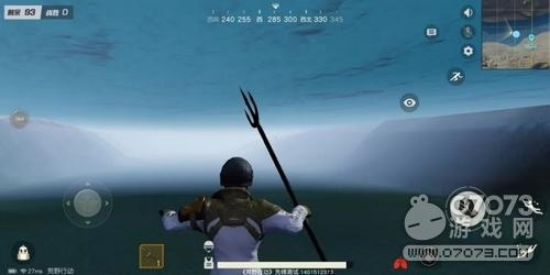 荒野行动绝密4+1档案 水下作战再曝新玩法