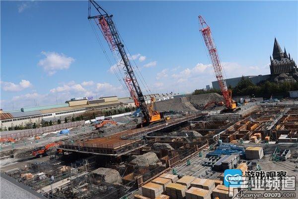 任天堂主题乐园施工照曝光 目标2020开放主题区域