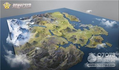 荒野行动新版本最新地图合集