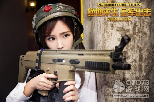 全军出击cos美女主播等你来架枪