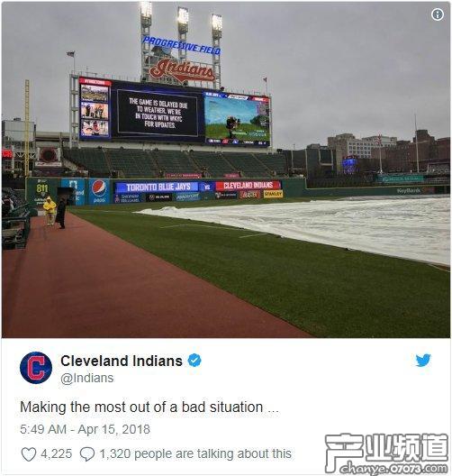 《堡垒之夜》游戏广告进驻美职棒球队主场
