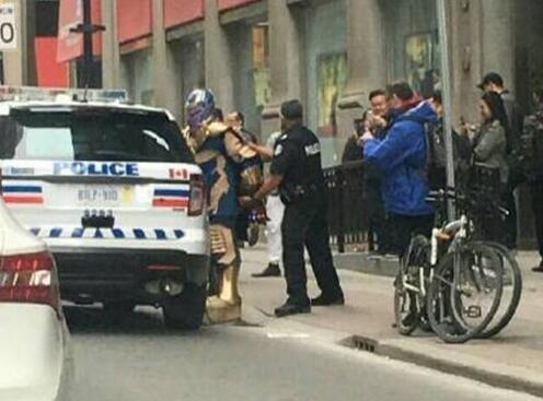 灭霸被警方逮捕 《复仇者联盟4》重大剧情曝光提前泄露了大结局?