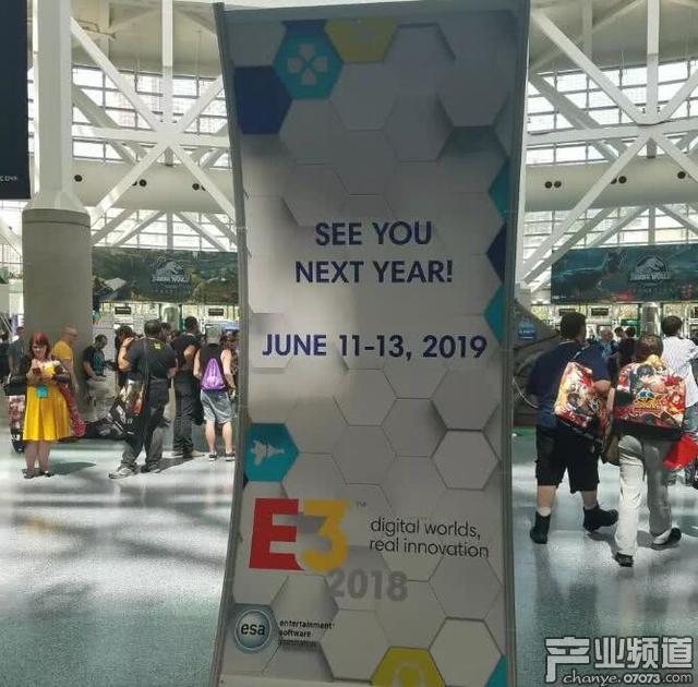 2018年E3展闭幕:与会者近7万 展出超3250件商品