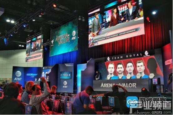 腾讯游戏E3展台