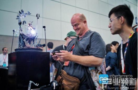 E3现场玩家正在试玩《ANNUNCIATION-帕斯卡契约》