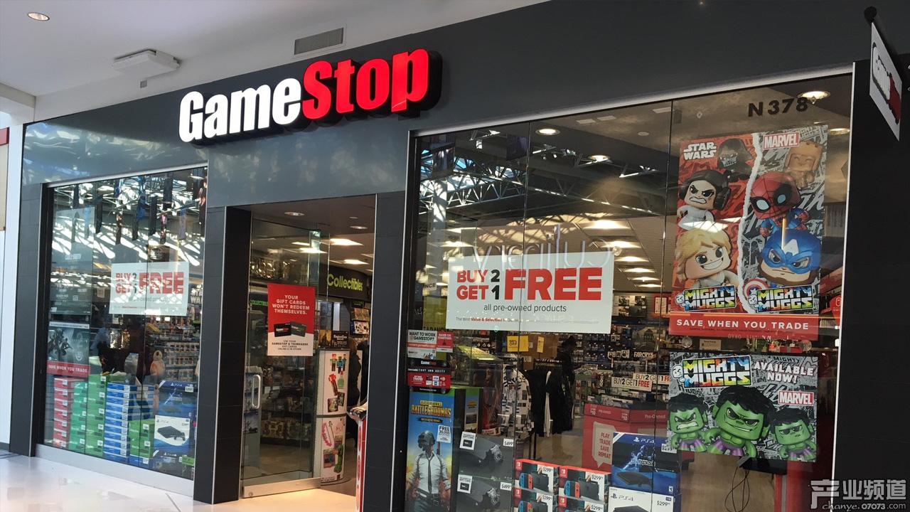 游戏零售巨头GameStop确认正讨论收购谈判