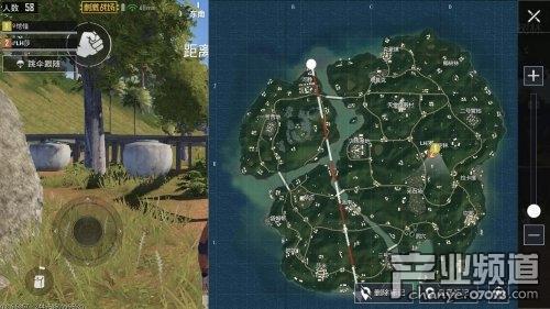 绝地求生刺激战场雨林新地图吃鸡攻略图片