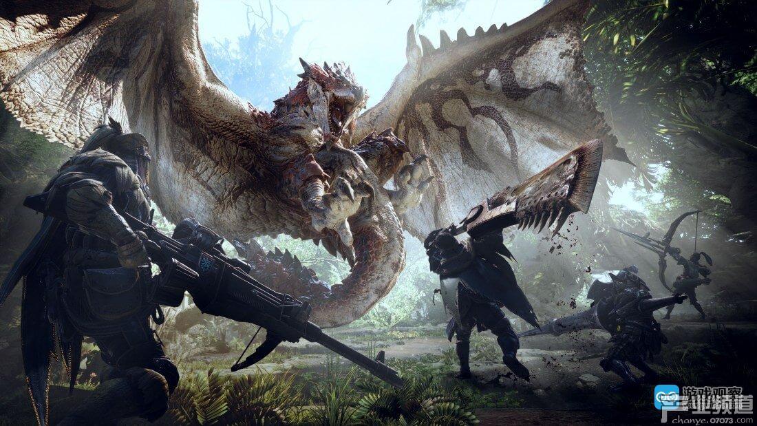 《怪物猎人:世界》总销量破1000万 发售仅仅过了半年