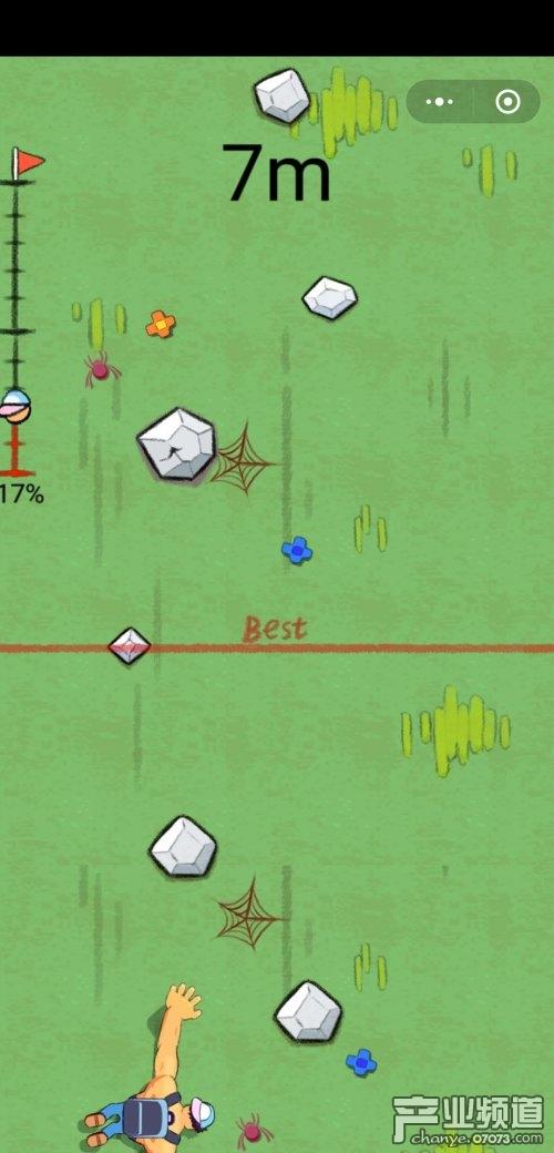 好玩的微信小游戏推荐:全民攀岩