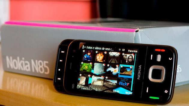 ▲ Nokia N85 图片来自:YouTube