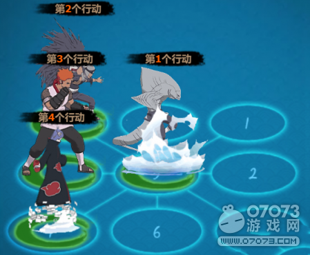 火影忍者ol角都一号鲨鱼队伍阵容分享