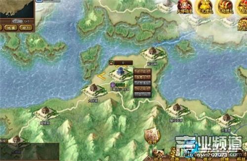 游戏王国《战国之野望》就是这样一款战争策略类游戏