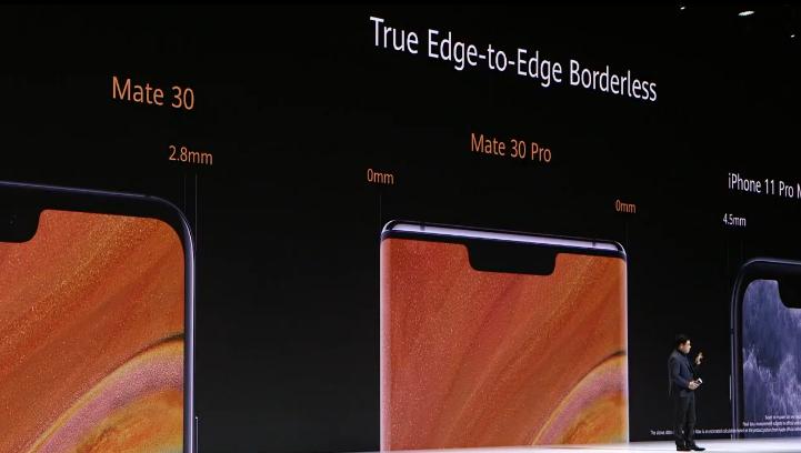 华为发布Mate30系列手机:电池最大4500mAh