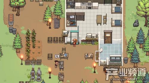 《尸外桃源》Steam平台已发布 开始在像素世界冒险吧