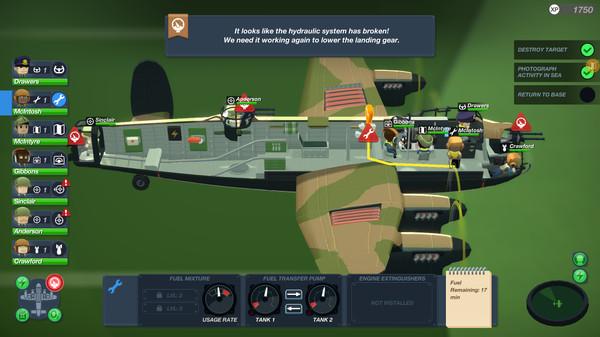 喜加一:免费领取steam摹拟策略游戏《轰炸机小队》