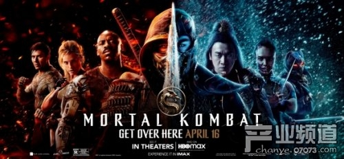 《真人快打》电影版公布新海报 4月16日北美地区上映