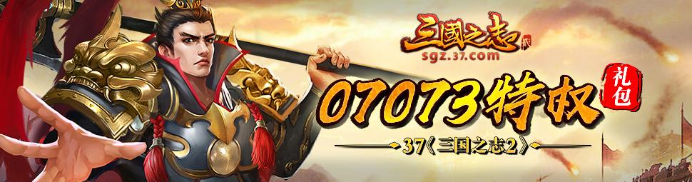 37游戏《三国之志2》07073特权礼包