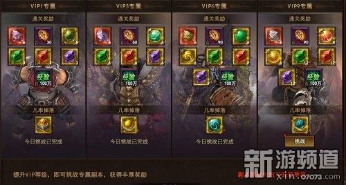 《太极崛起》VIP副本玩法攻略介绍