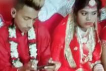 新郎婚礼沉迷游戏 婚礼全程吃鸡不理新娘