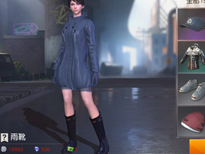 荒野行动雨衣雨靴一览 雨衣时装多少钱